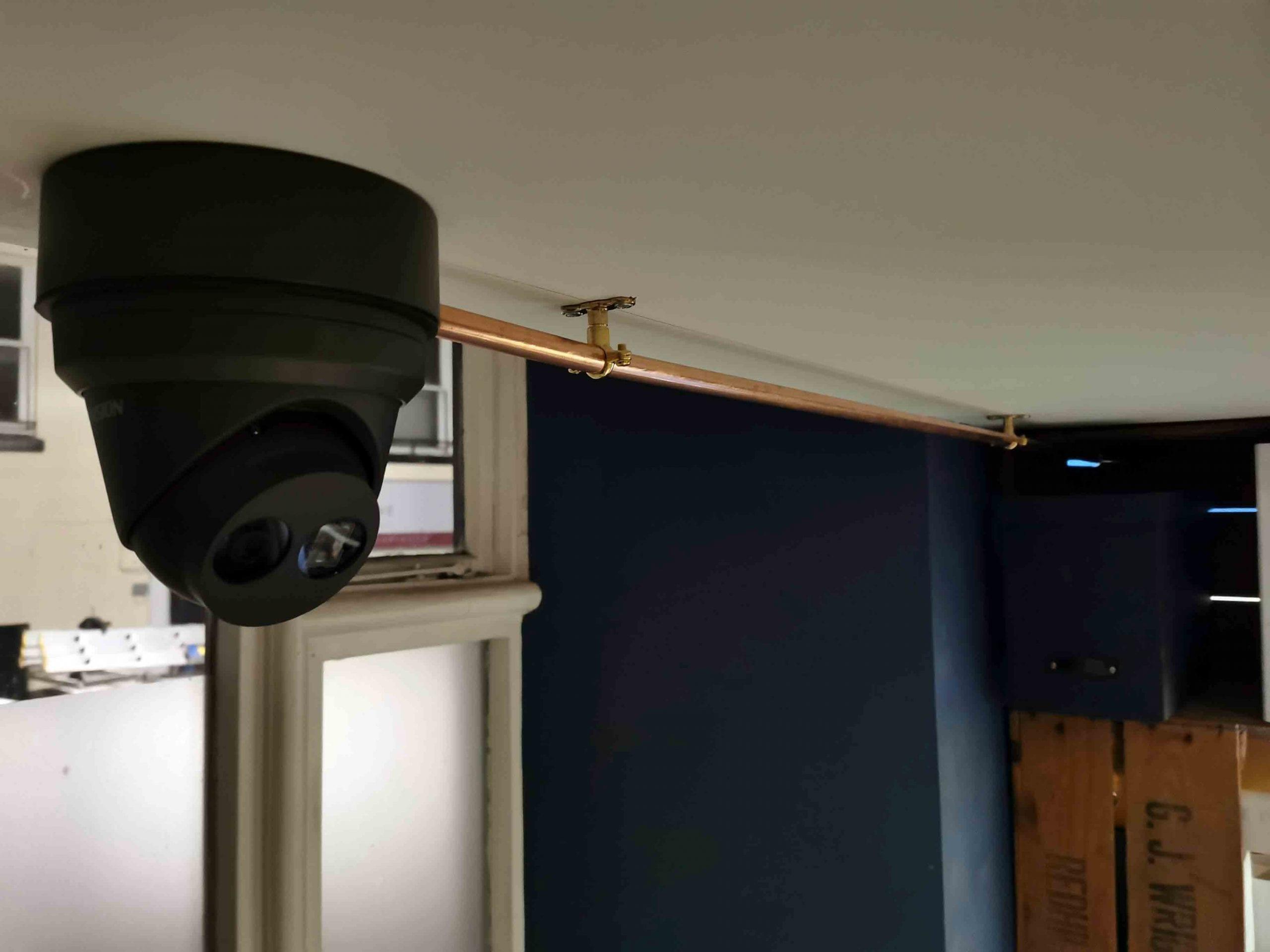 HIKVision turret style CCTV camera