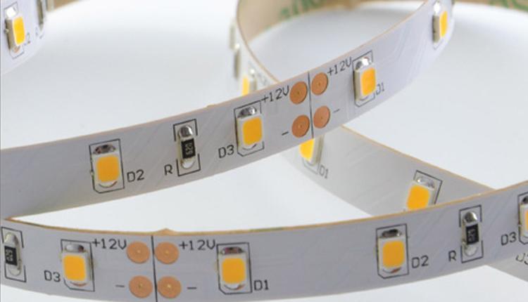 12V LED tape installation