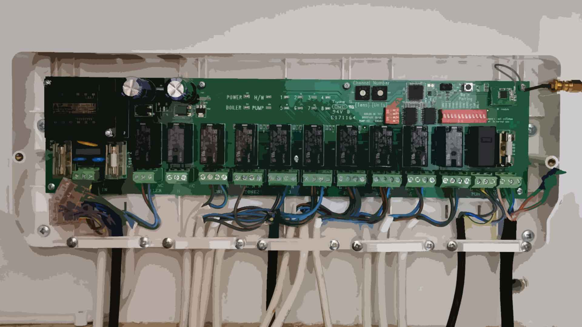 Electrician to fit a UH8 Heatmiser wiring centre in West Yorkshire